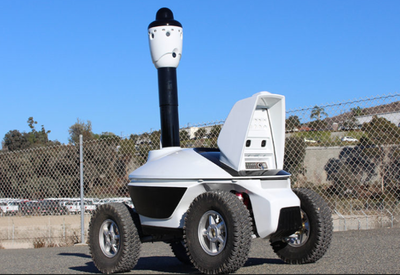 Security robots available