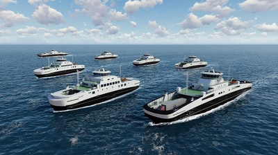 Major contract for battery ferries
