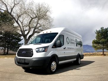 New all-electric Ford Transit