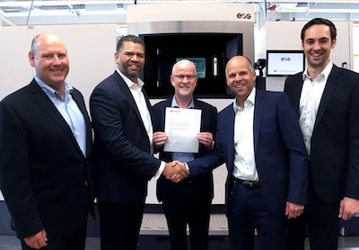 Morf3D chooses EOS 3D printing technology