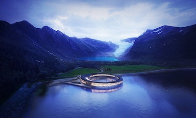 World's first energy positive hotel concept