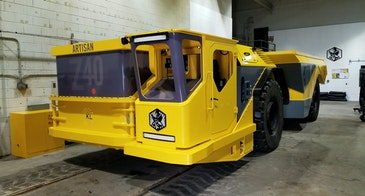 All electric 40 tonne truck for the mining industry