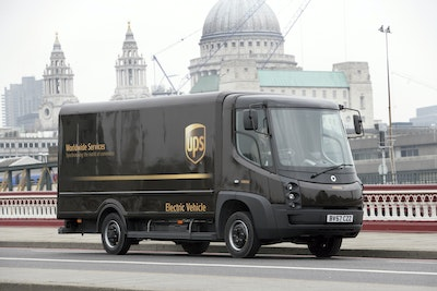 UK Power Networks Services smart charges UPS's electric vehicles
