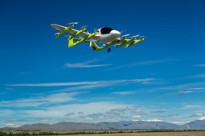 Zephyr flying taxis trial in New Zealand