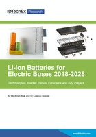 Li-ion Batteries for Electric Buses 2018-2028