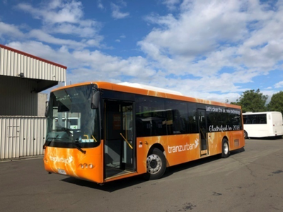 New Zealand's first electric bus