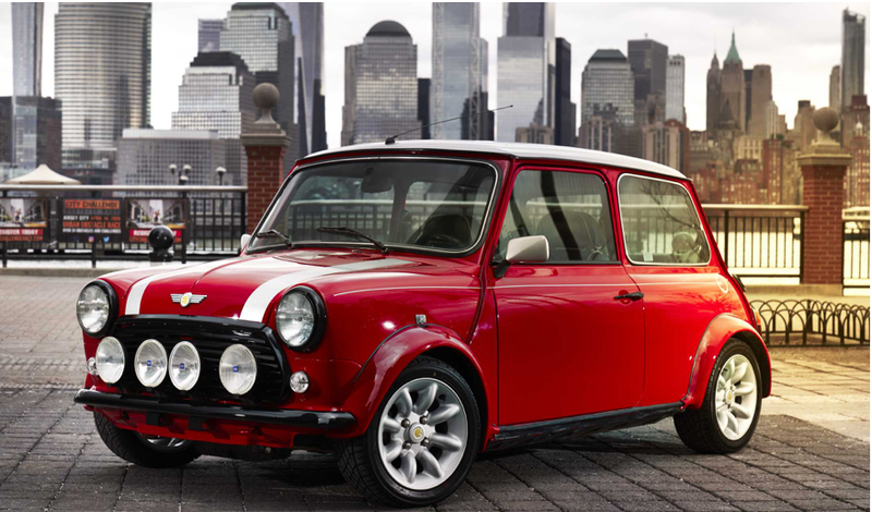 A Look Back Into The Future The Classic Mini Electric Electric