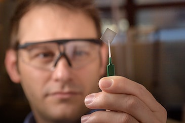 Glass-like polymer conducts electricity for transparent electronics