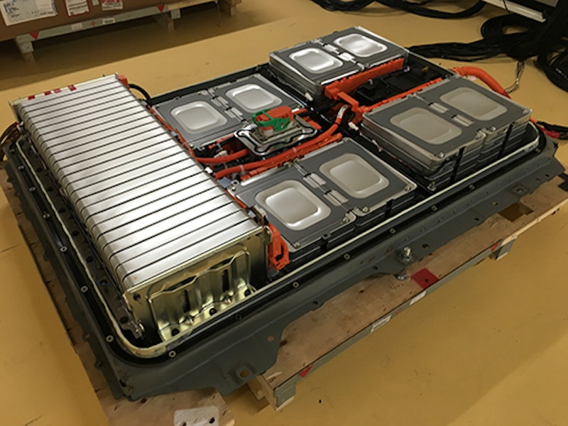 Recycled Car Batteries Power Street Lights Off Grid Energy