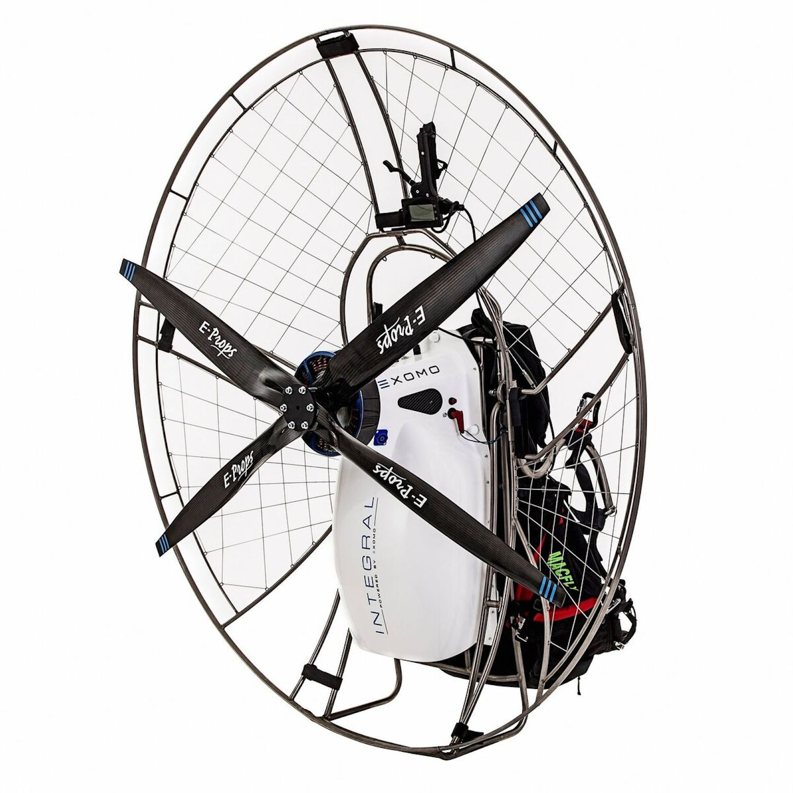 New design for electric powered paramotor | Electric
