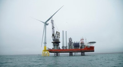 World's most powerful wind turbine successfully installed in Scottish