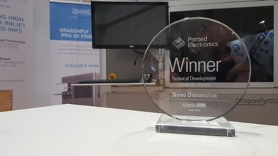 Nano Dimension's multi-material 3D printing inks earn award