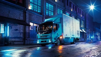Volvo Trucks' first all-electric truck