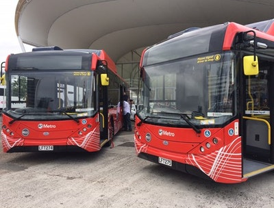 Electric buses to hit Auckland's streets