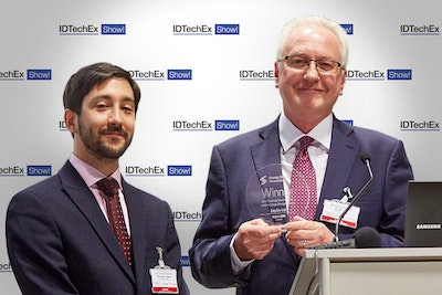 ZapGo wins IDTechEx award