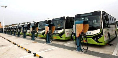 Collaboration to prolong battery life of electric buses and trucks