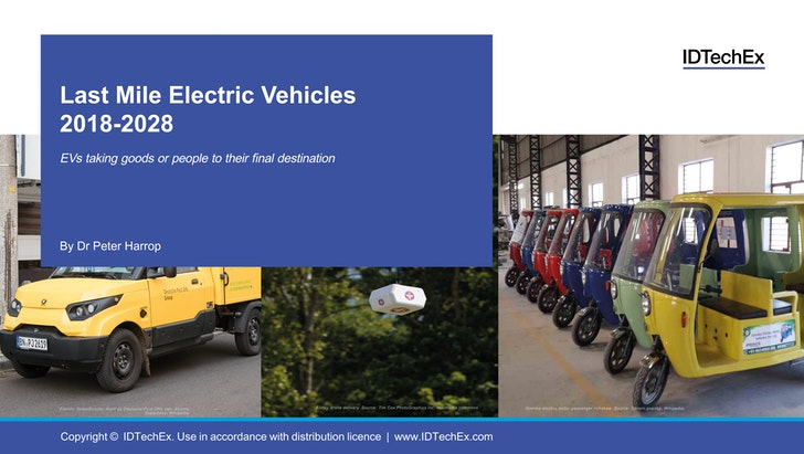 Last Mile Electric Vehicles 2018-2028