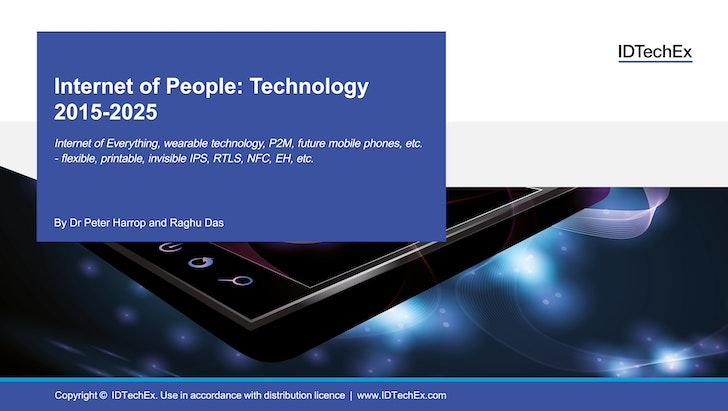 Internet of People: Technology 2015-2025: IDTechEx