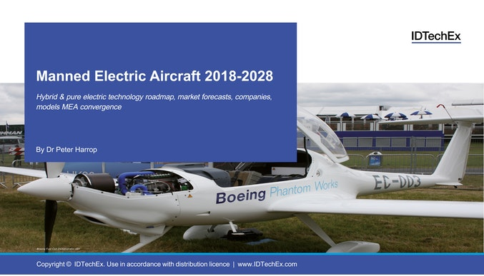 Manned Electric Aircraft 2018-2028