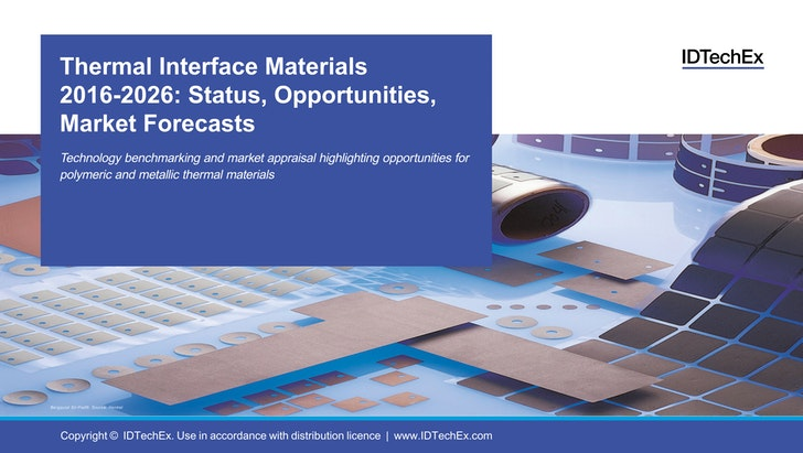 Thermal Interface Materials 2016-2026: Status, Opportunities, Market Forecasts