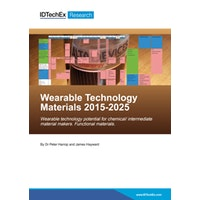 Wearable Technology Materials 2015-2025 - Electronic (1-5 users)