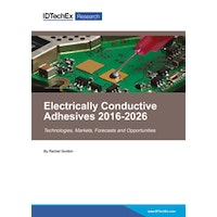Electrically Conductive Adhesives 2016-2026 - Electronic (1-5 users)