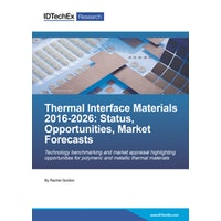 Thermal Interface Materials 2016-2026: Status, Opportunities, Market Forecasts - Electronic (1-5 users)