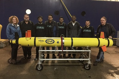 Guiding marine robots to optimal sampling sites