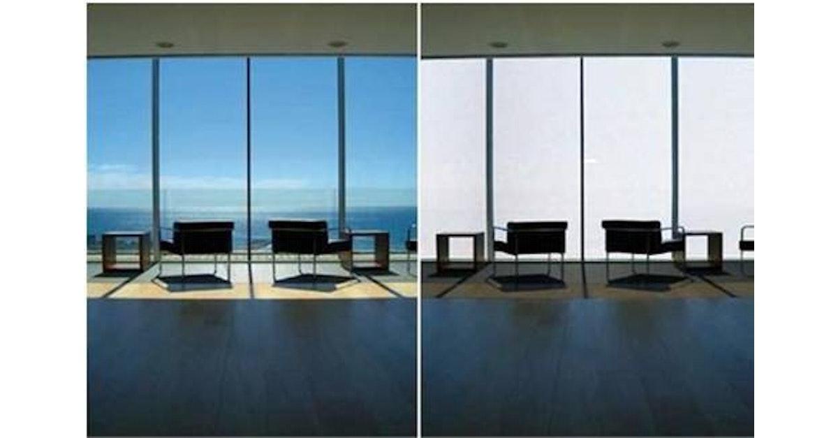 Electrochromic glass: the largest smart glass market | IDTechEx
