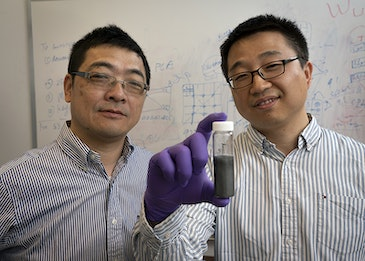 Rare element for flexible, printed devices