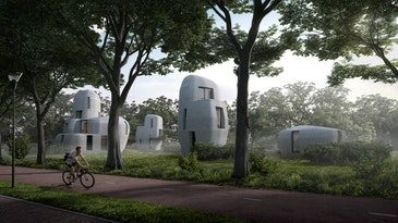 3D-concrete printing housing project