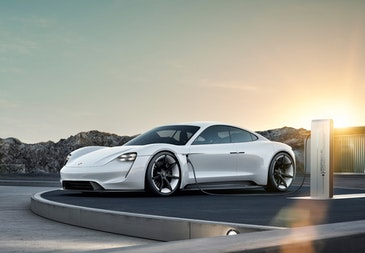 Porsche's first fully electric sports car is named Taycan