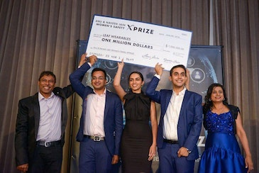 Wearable for women's safety wins $1 million XPrize
