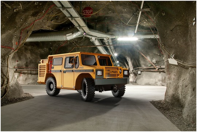 Paus and Danfoss electrify mine vehicles