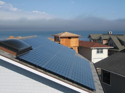 California requires solar systems for new homes