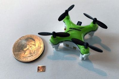 Chip upgrade helps miniature drones navigate