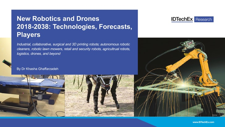 New Robotics and Drones 2018-2038: Technologies, Forecasts