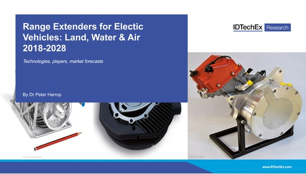 Range Extenders for Electric Vehicles Land, Water & Air 2018-2028