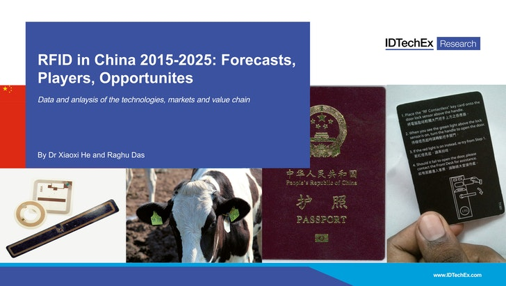 RFID in China 2015-2025: Forecasts, Players, Opportunities