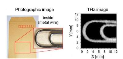 Carbon nanotubes for flexible, fingertip-wearable terahertz imagers