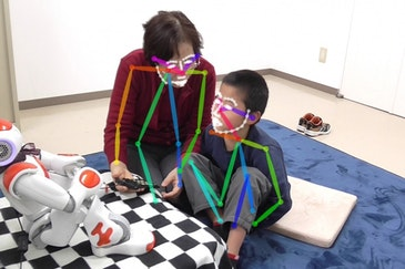 Personalized deep learning equips robots for autism therapy