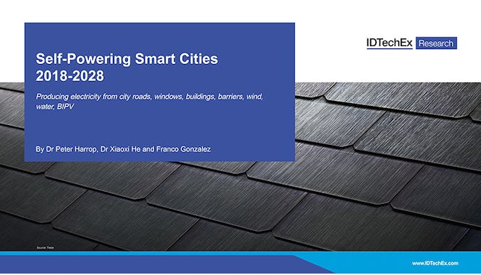 Self-Powering Smart Cities 2018-2028