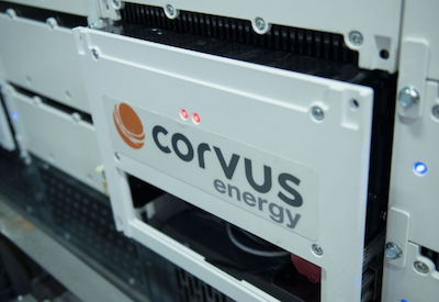 Corvus Energy to expand production in response to high demand