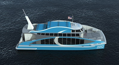 First hydrogen fuel cell vessel in the United States