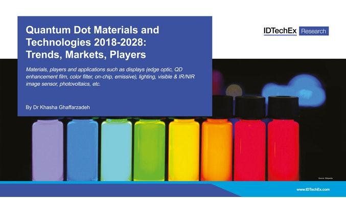 Quantum Dot Materials and Technologies 2018-2028:          Trends, Markets, Players