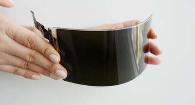 Samsung Display's 'unbreakable flexible panel'