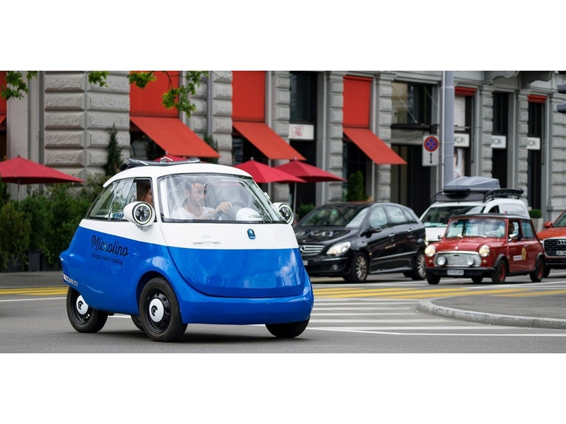 Microlino electric vehicle street legal in Europe | Electric