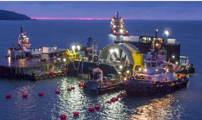 Naval Energies stops its investment in tidal-turbine energy