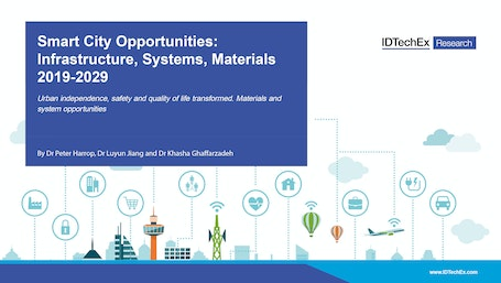 Smart City Opportunities: Infrastructure, Systems, Materials 2019-2029