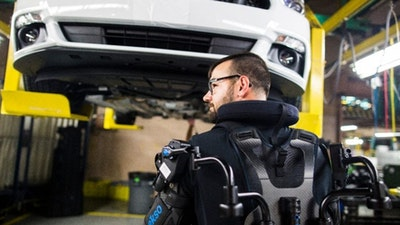 Ford rolls out exoskeleton wearable to reduce worker fatigue